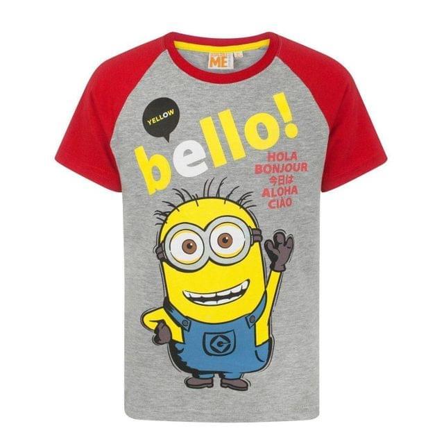 Despicable Me Childrens Boys Yellow Bello Minion T-Shirt