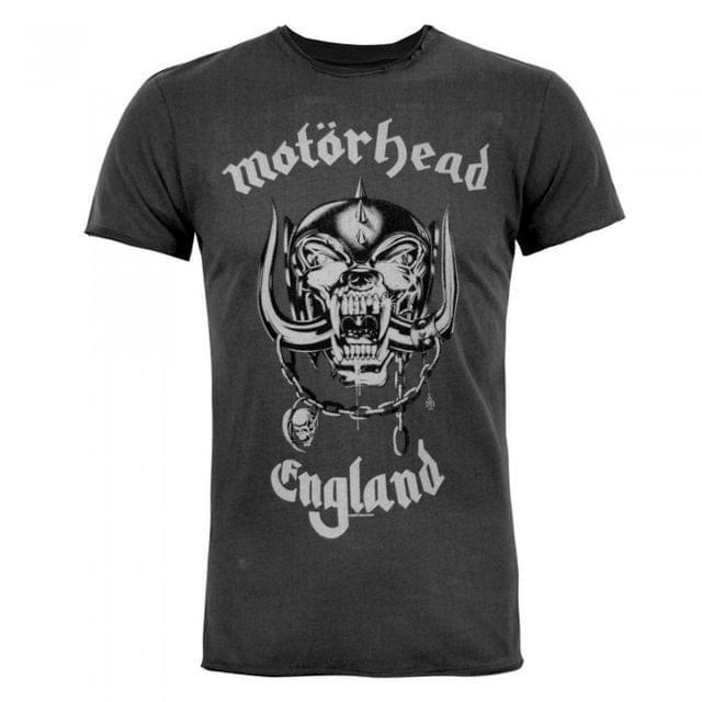 Amplified Official Mens Motorhead England T-Shirt