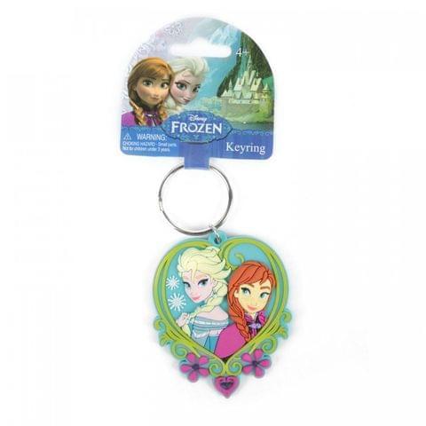 Disney Frozen Elsa And Anna Soft Touch Key Chain