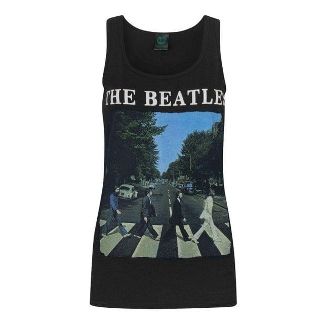The Beatles Womens/Ladies Abbey Road Sleeveless Tank Top