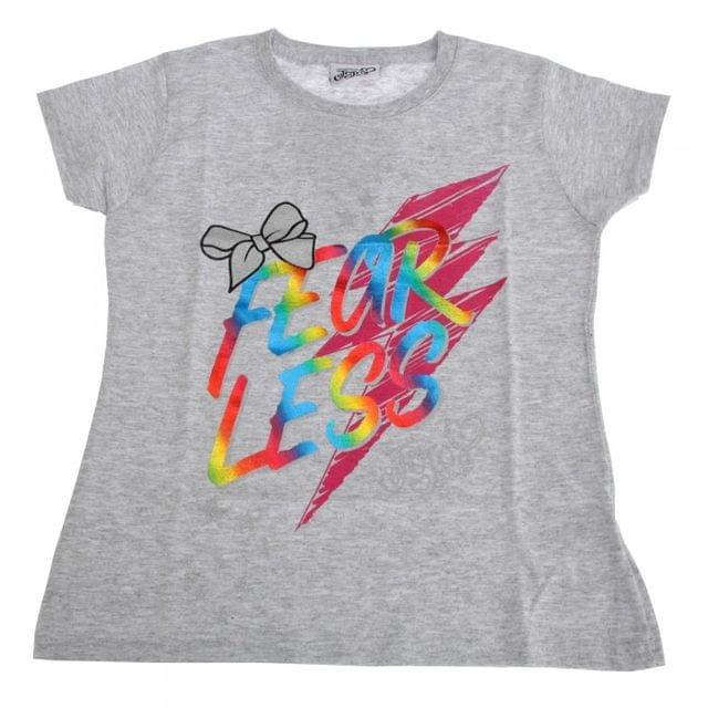 Jojo Siwa Childrens Girls Fearless T-Shirt
