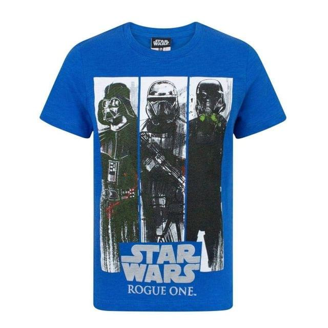 Star Wars Childrens Boys Rogue One Character Panels T-Shirt