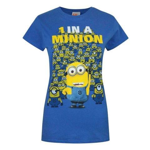 Minions Womens/Ladies 1 In A Minion T-Shirt