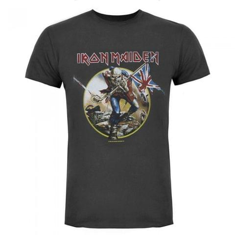 Amplified Official Mens Iron Maiden Trooper T-Shirt