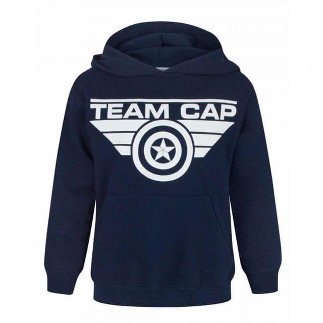Marvel Childrens/Kids Unisex Captain America Civil War Team Cap Hoodie