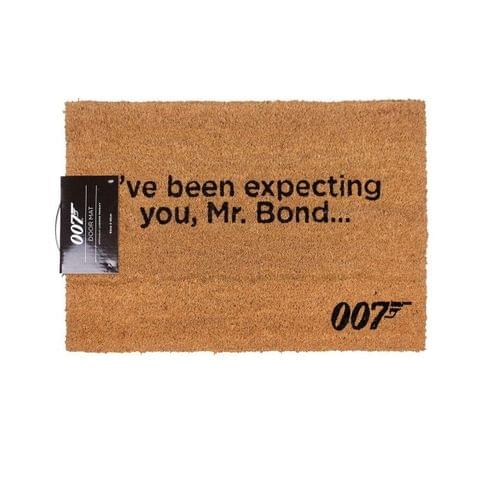 James Bond Official Ive Been Expecting You Door Mat