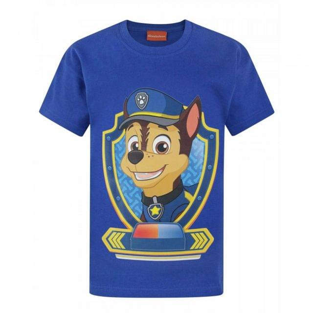 Paw Patrol Childrens/Boys Official Chase Character T-Shirt