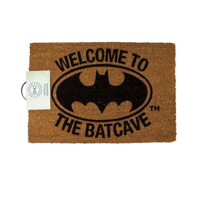 Batman Official Welcome To The Bat Cave Door Mat