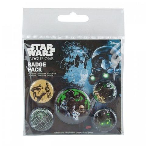 Star Wars Rogue One Empire Badge Pack