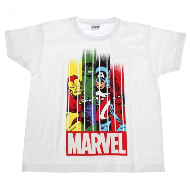 Marvel Group Childrens/Kids Stripe Fade T-Shirt