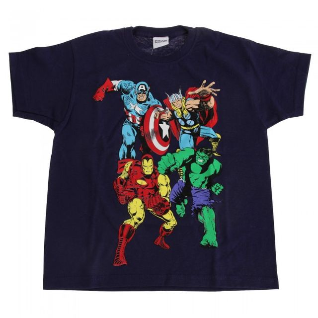 Marvel Group Childrens/Kids T-Shirt