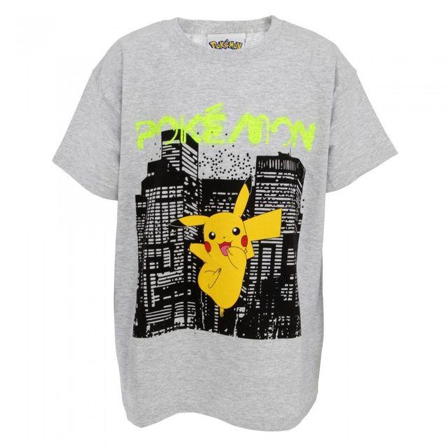 Pokemon Childrens/Kids Neon City T-Shirt