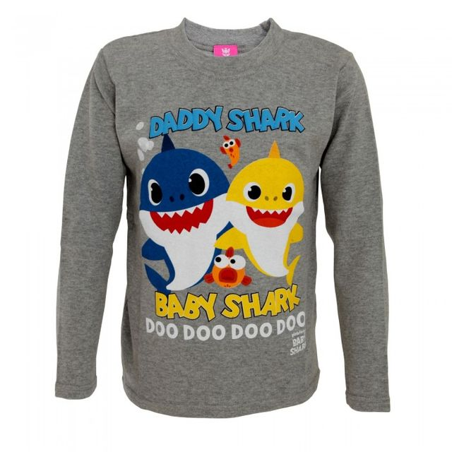 Pinkfong Childrens/Kids Baby Shark And Daddy Shark Top