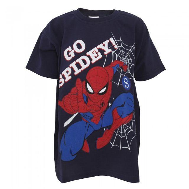Spiderman Childrens Boys Go Spidey T-Shirt