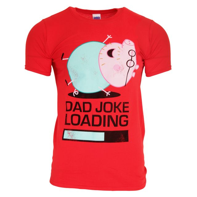 Peppa Pig Official Daddy Pig Joke Loading Adults T-Shirt