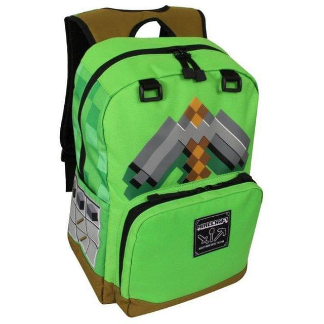Minecraft Official Childrens/Kids Pickaxe Adventure Backpack