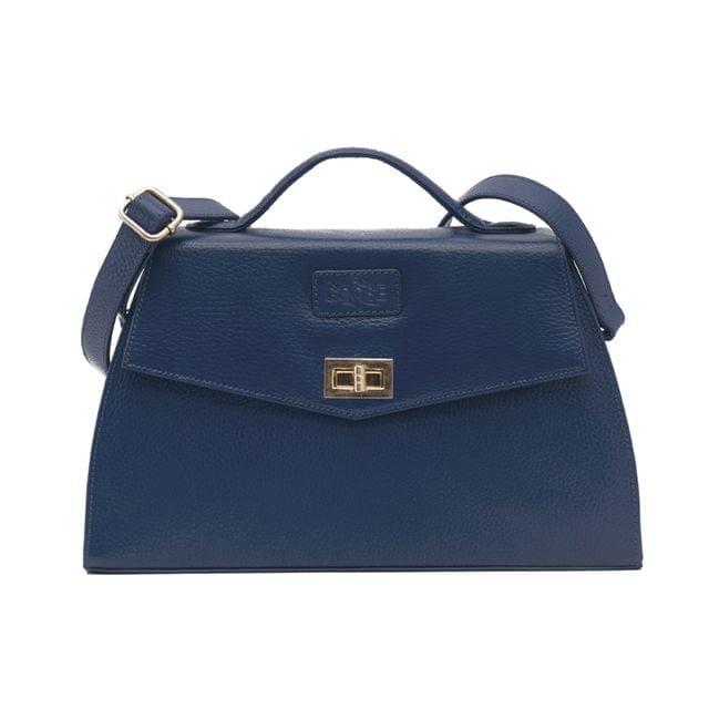 Goose Midi Ladies Handbag Blue