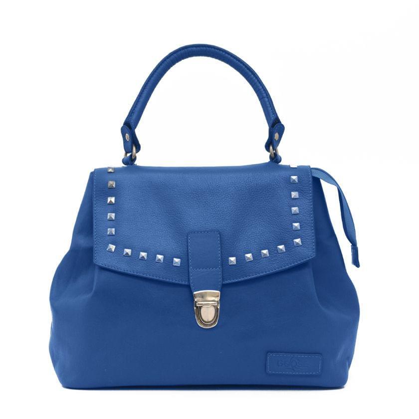 Goose Midi Bucket Handbag Blue