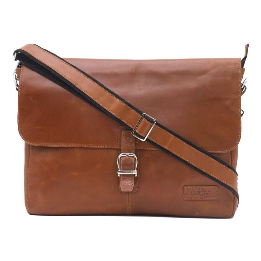 Single Loop Every Day Satchel Bag Tan