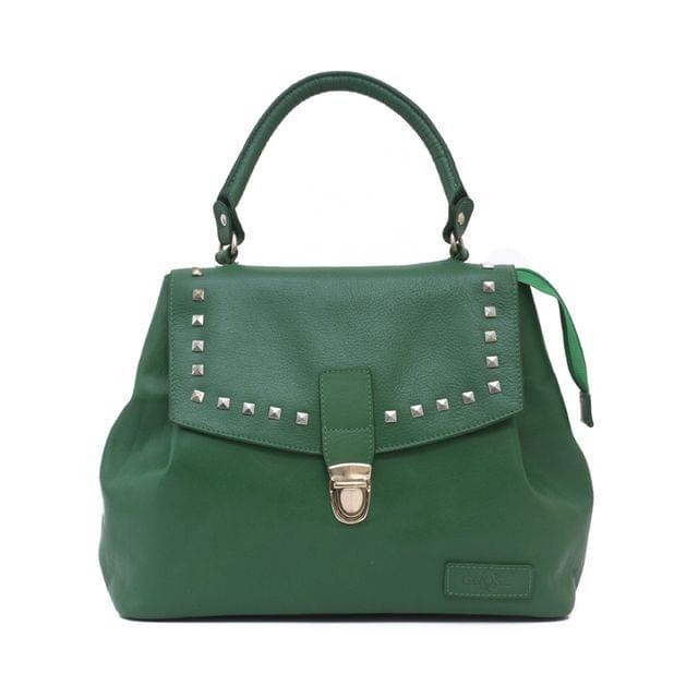 Goose Midi Bucket Handbag Green