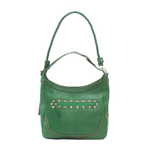 Full Sized Hobo Bag Green