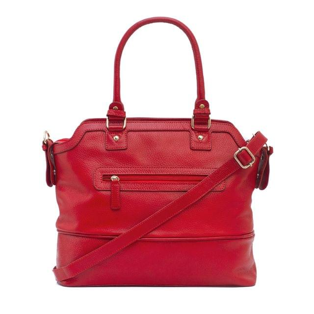 Classic Ladies Tote Bag Red