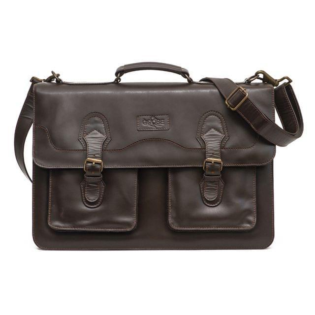 Goose Signature Business Satchel Bag