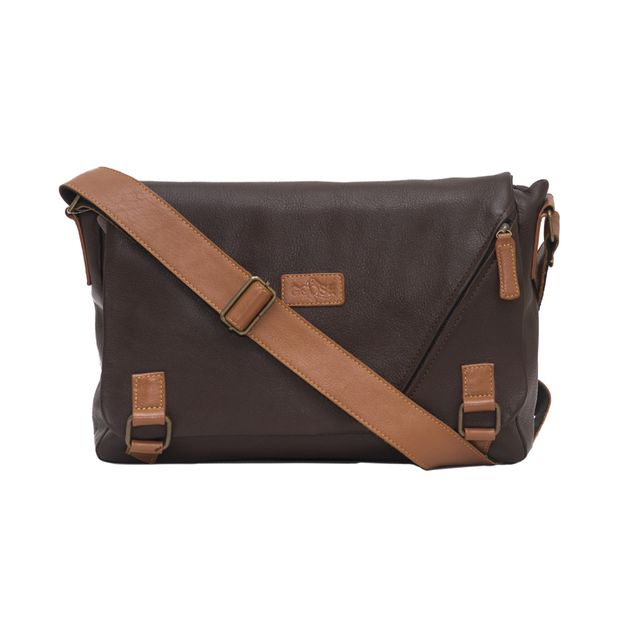 Every Day Messenger Bag Brown