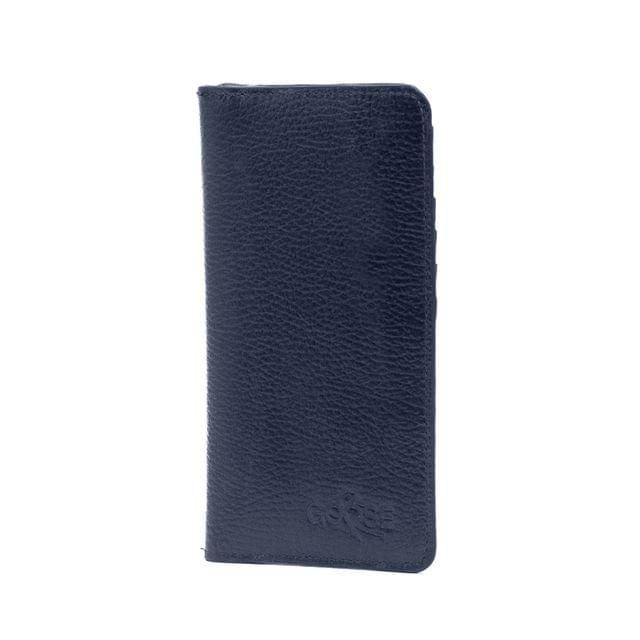 Long Wallet Men with Inner Zip Pocket