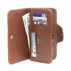 Multipurpose 3 Flap Long Wallet-Men-Two Tone Brownish