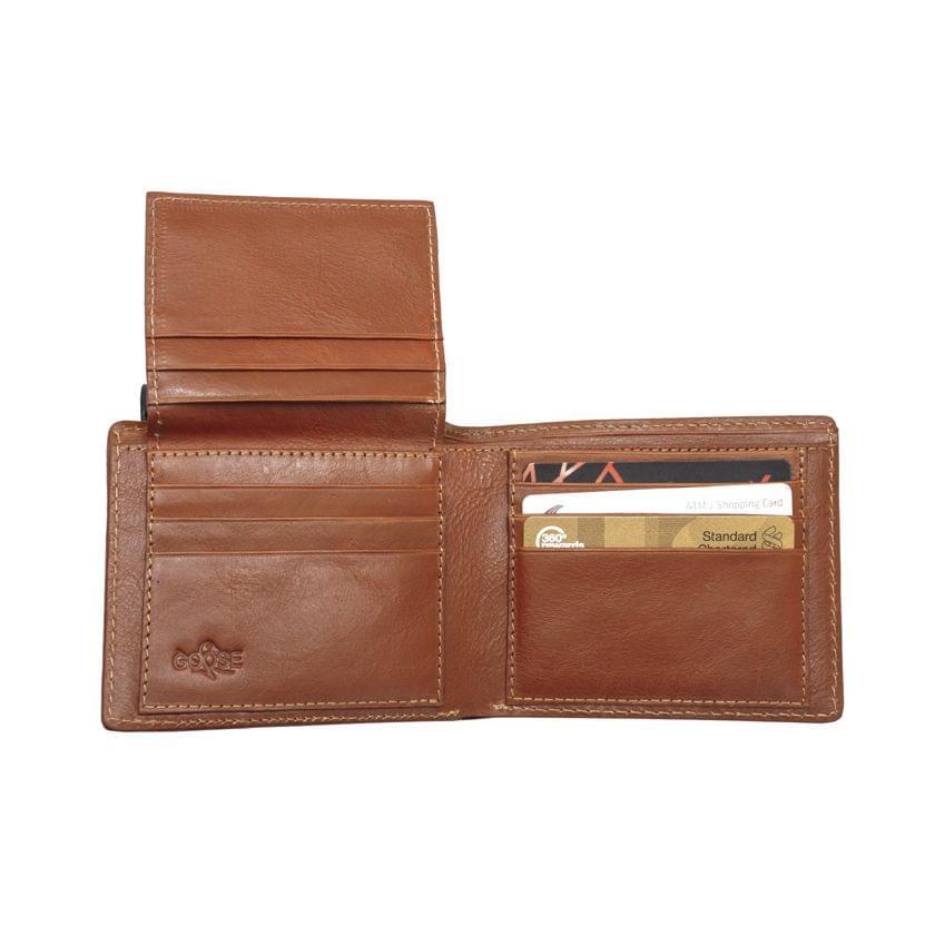 Goose Super Sized Wallet  Tan