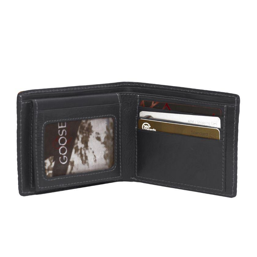 Goose Super Sized Wallet Black