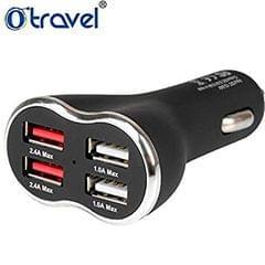 Weasy O-Travel 4 Socket Universal Car USB Charger