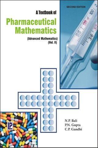 A Textbook of B. Pharmaceutical Mathematics Vol.-II