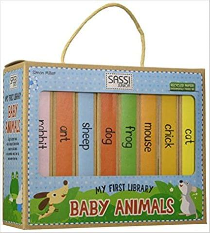MY FIRST LIBRARY - BABY ANIMALS