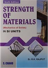 Strength of Materials [Mechanics of Solids] SI units