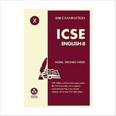 Oswal ICSE MODEL SPECIMEN PAPERS OF ENGLISHII Class 10 for 2018 Exam