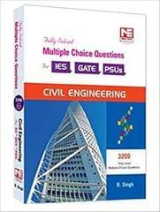 3200 MCQs: Civil Engineering  Practice Book for ESE, GATE & PSUs