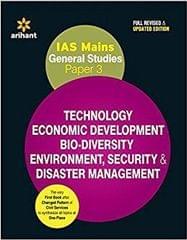 IAS Mains General Studies Paper 3 Technology Economic Development BioDiversity