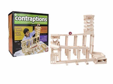 Mindware Keva Contraptions: 200 Plank Set, Multi Color