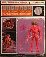 The Outer Space Men Orbitron: The Man From Uranus Action Figure