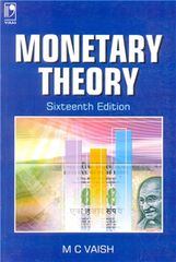MONETARY THEORY  16TH EDITION