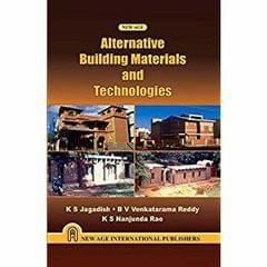 Alternative Building Materials and Technologies
