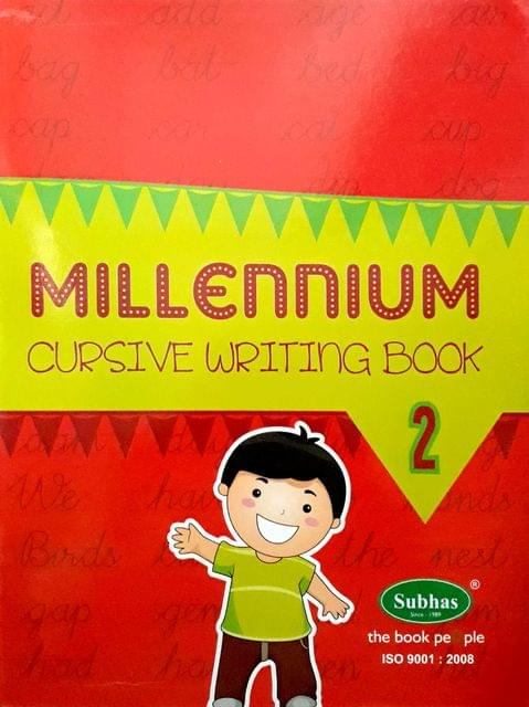 Millennium Cursuve writing book 2