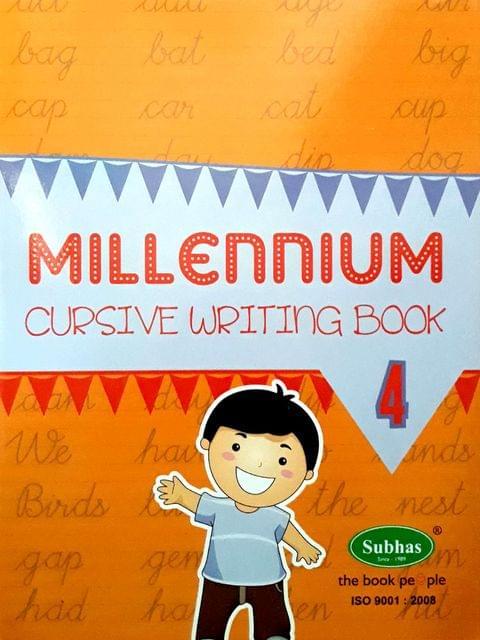 Millennium Cursuve writing book 4