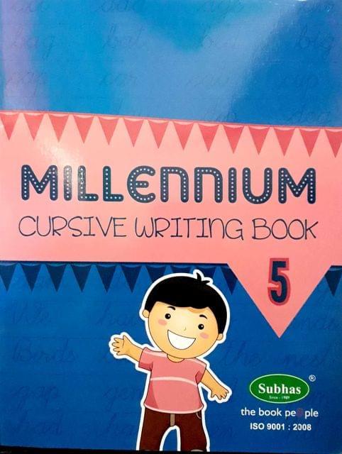 Millennium Cursuve writing book 5