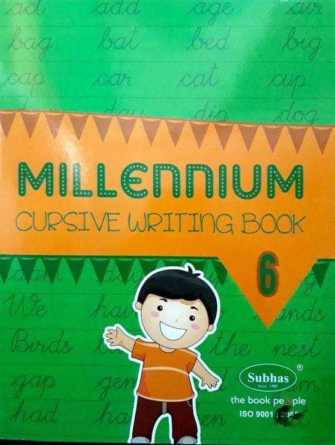 Millennium Cursuve writing book 6