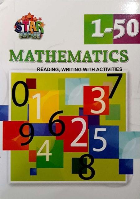 Mathematics, reading, writing with activities, 1-50