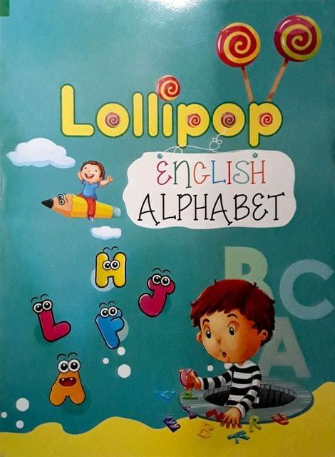 Lollipop English alphabet