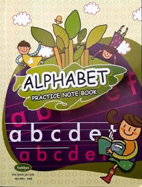 Alphabet Practice Note Book